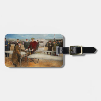 Plane - Odd - Easy as riding a bike 1912 Luggage Tag