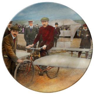 Plane - Odd - Easy as riding a bike 1912 Plate
