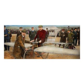 Plane - Odd - Easy as riding a bike 1912 Rack Cards