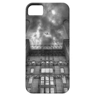 Plane over Battersea Power Station London iPhone 5/5S Case