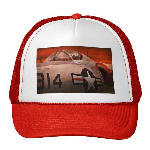 Plane - Pilot - Airforce - Go get em Tiger Trucker Hat