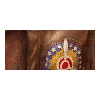 Plane - Pilot - The flight jacket Customized Rack Card