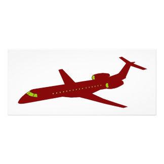 Plane - Plane (05) Rack Card Template