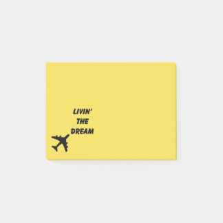 Plane Post-its Post-it Notes