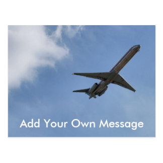 Plane Postcard