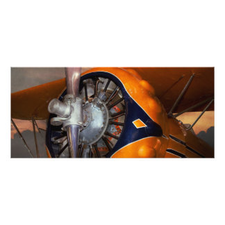 Plane - Prop - The Gulfhawk Rack Card Design