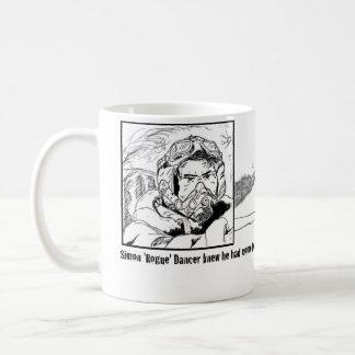 Plane Strip Basic White Mug