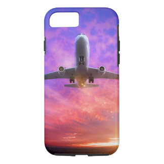 Plane Take Off Flying Sunset iPhone 8/7 Case