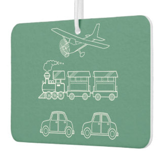 Plane, Train and Car Design ~ editable background