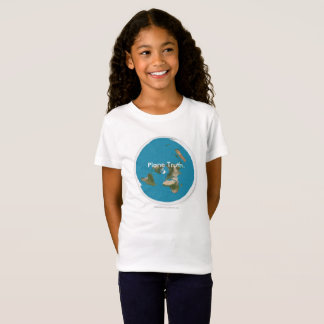 Plane Truth. Azimuthal Equidistant Kids T-Shirts