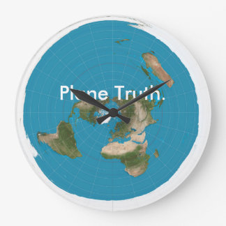 """Plane Truth."" Clock"