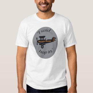 Planes and Casino's Tee Shirt