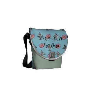 Planes and Flowers Bag Commuter Bag
