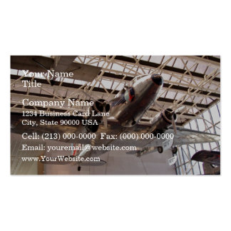 Planes in show business card
