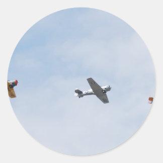 Planes Round Sticker
