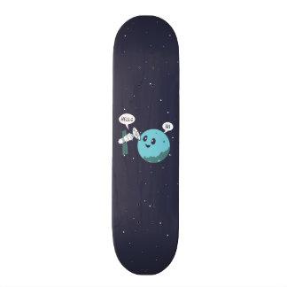 Planet 18.1 Cm Old School Skateboard Deck