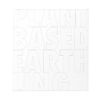 PLANET BASED EARTHLING NOTEPAD