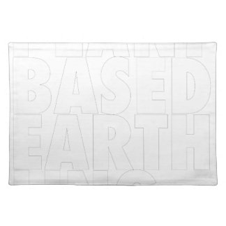 PLANET BASED EARTHLING PLACEMAT