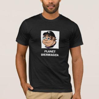 PLANET BIERWAGEN Caricature Black T-Shirt