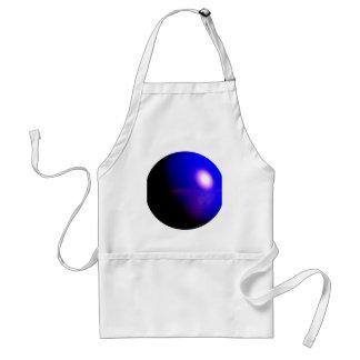 Planet Blue 3D Design Apron
