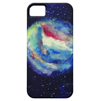 Planet Case, Watercolor Cosmos Art Case For The iPhone 5