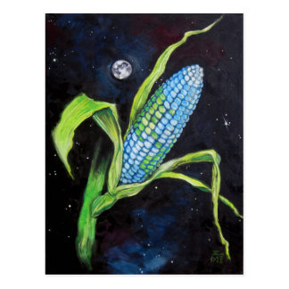 Planet Corn Postcard