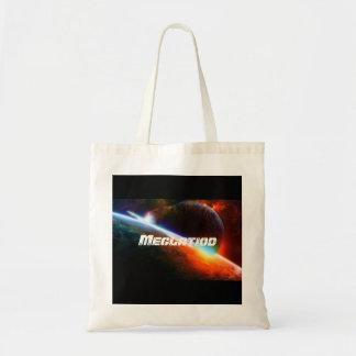 Planet Crash Tote Bag