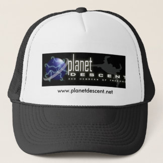 Planet Descet Trucker Hat