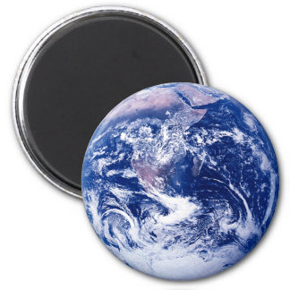 Planet Earth 6 Cm Round Magnet