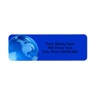 Planet Earth Address Labels