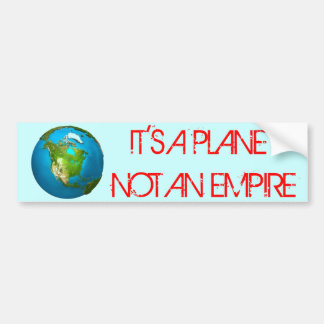 PLANET EARTH - Bumper Sticker