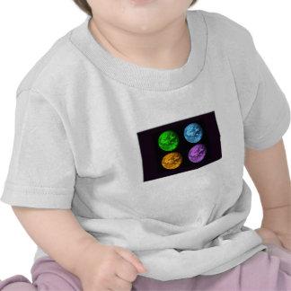Planet Earth Collage Tshirt