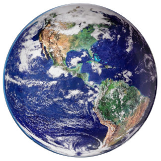 Planet Earth Decorative Plate