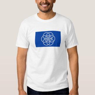 Planet earth flag tshirts