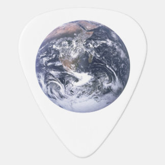 Planet Earth From Space Earth Day Plectrum