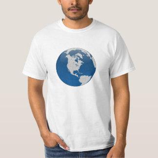 Planet Earth Globe Shirts