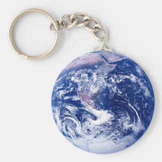 Planet Earth Key Ring