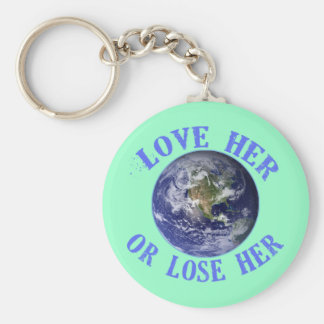 Planet Earth, Love Her or Lose Her T shirts, Totes Keychains