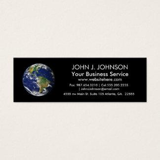 Planet Earth Mini Business Card