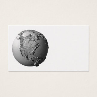 Planet Earth On White Background - North America