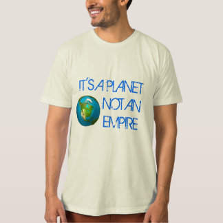 Planet Earth - Organic Men's T-Shirt