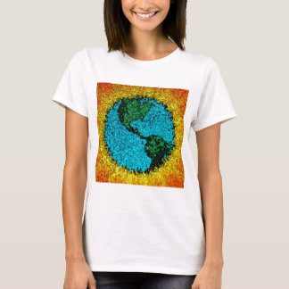 Planet Earth Pop Art T-Shirt