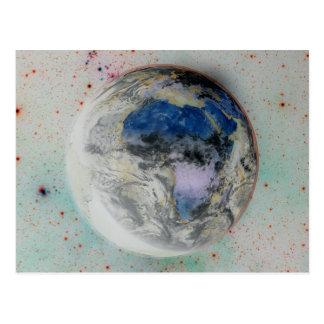 Planet Earth. Postcard