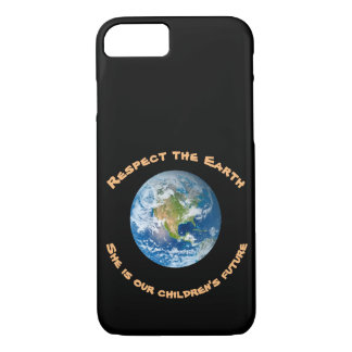 Planet Earth Respect Children Future iPhone 7 Case