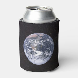 Planet Earth Starry Sky Can Cooler