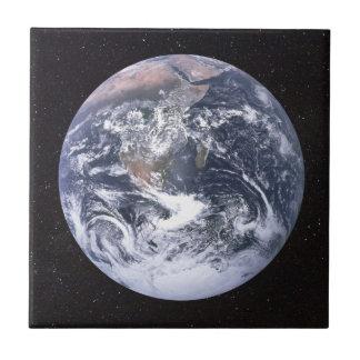 Planet Earth Starry Sky Ceramic Tile