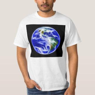 Planet Earth World Globe T Shirts