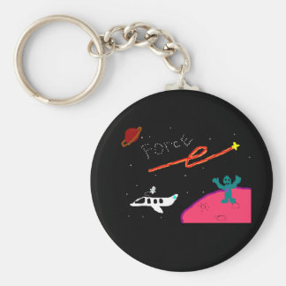 Planet FORCE keychain