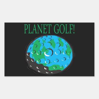 Planet Golf Sticker