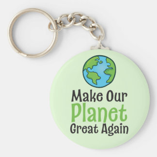 "Planet Great Again 2.25"" Basic Button Keychain"